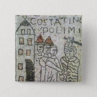 Pavement of St. John the Evangelist Pinback Button