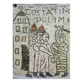 Pavement of St. John the Evangelist Postcard