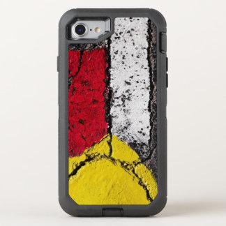 Pavement Road Paint Art - Cool - Fun OtterBox Defender iPhone 8/7 Case
