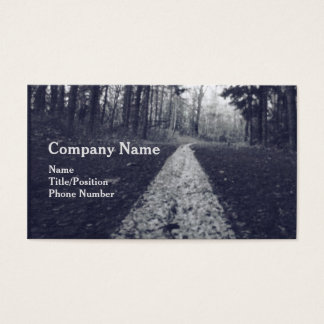 Pavement Trail/Road Business Card Design