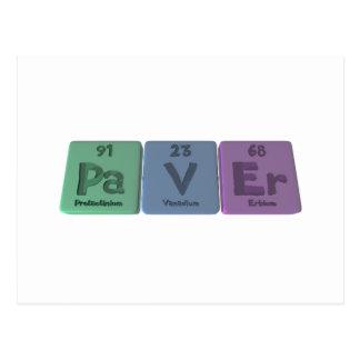 Paver-Pa-V-Er-Protactinium-Vanadium-Erbium.png Postcard