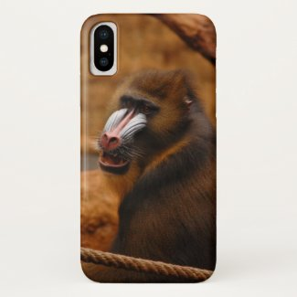Pavian / Baboon... iPhone X Case