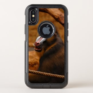 Pavian / Baboon - OtterBox Commuter iPhone X Case