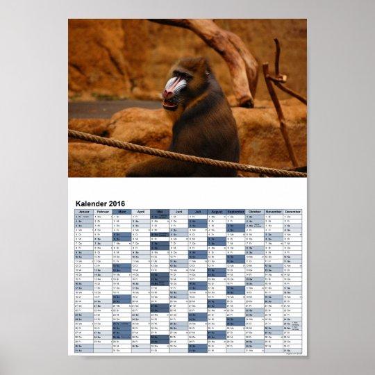Pavian/Baboon gefunden auf Zazzle.de