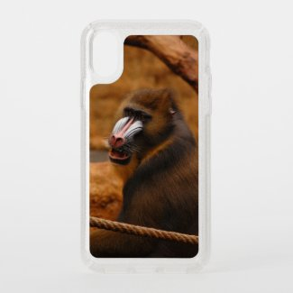 Pavian / Baboon - Speck iPhone X Case