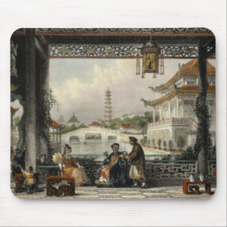 Pavilion and Gardens of a Mandarin near Peking, fr Mouse Pad