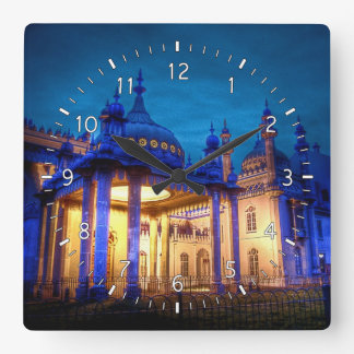 Pavilion Entrance Square Wall Clock