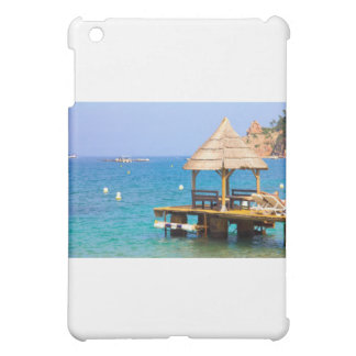Pavilion in a beach iPad mini covers