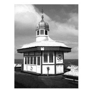 Pavilion North Pier B/W Postcard