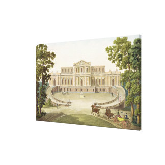 Pavilion of Haarlem, from 'Choix des Monuments, Ed Canvas Print