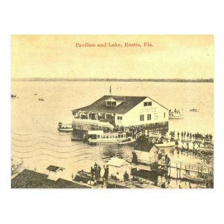 Pavilion of Lake Eustis, Plorida, 1908 Postcard