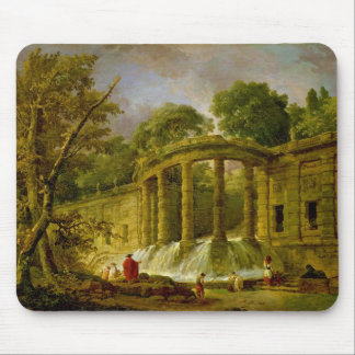 Pavilion with Cascade, 1760 Mouse Pad