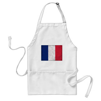 Pavillon de la France  Flag of France Adult Apron