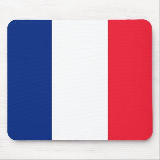 Pavillon de la France  Flag of France Mouse Pad