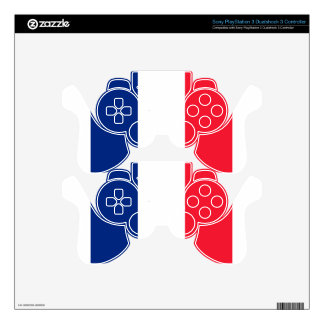 Pavillon de la France  Flag of France PS3 Controller Skin