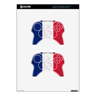 Pavillon de la France  Flag of France Xbox 360 Controller Skin