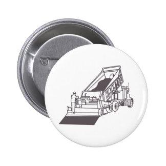 Pavimentación del esquema del camión pin redondo 5 cm