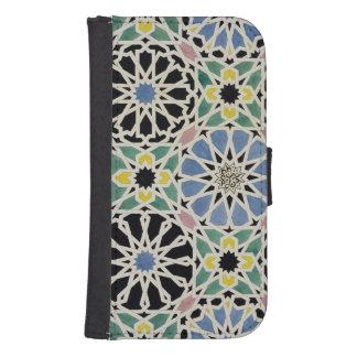 Pavimento de mosaico en Alhambra, 'del árabe Funda Cartera Para Teléfono