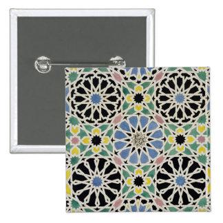 Pavimento de mosaico en Alhambra, 'del árabe Pin Cuadrada 5 Cm