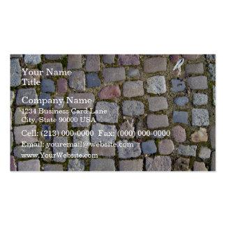 Paving Brick Cobbles Business Cards