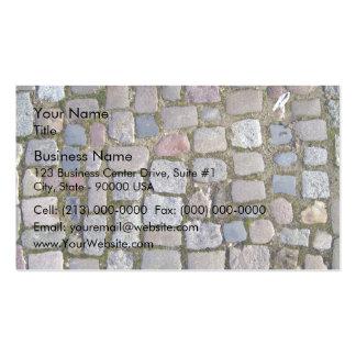 Paving Brick Cobbles Business Card
