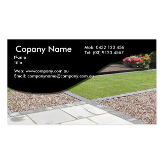 Paving Double-Sided Standard Business Cards (Pack Of 100)