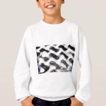 paving pattern sweatshirt