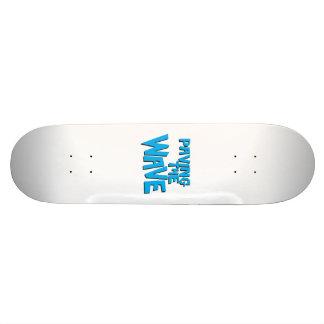 Paving the Wave Skateboard