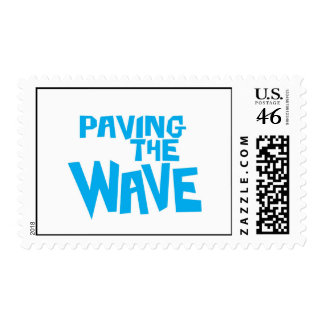 Paving the Wave US postage stamp