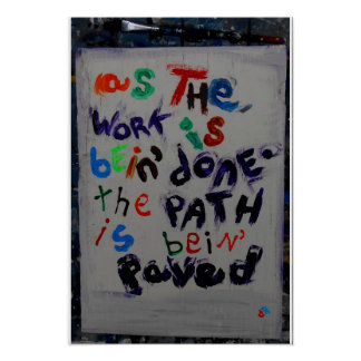 paving the way poster