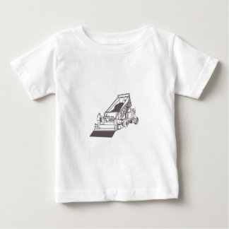 Paving Truck Outline Baby T-Shirt