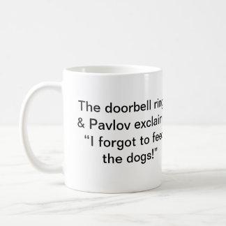 Pavlov joke coffee mug