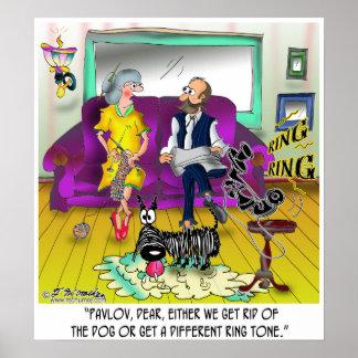Pavlov s Ring Tone Print
