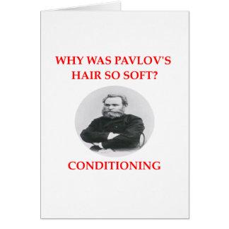pavlov tarjeta de felicitación