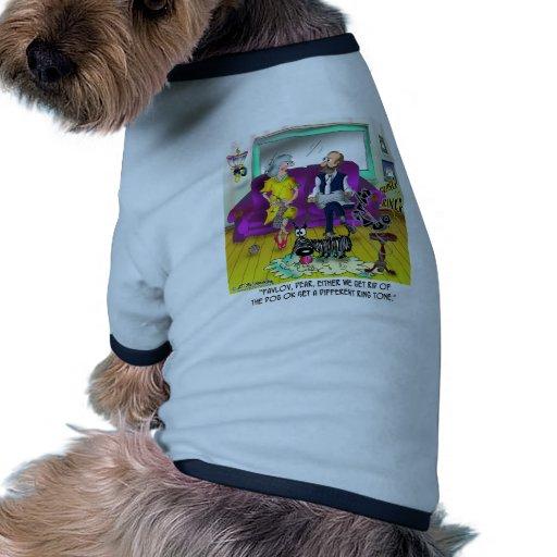Pavlov's Ring Tone Pet T Shirt