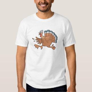 pavo asustado divertido camisas