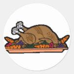 pavo cocinado etiquetas