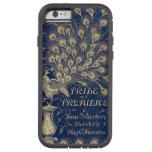 Pavo real 1894 del orgullo y del perjuicio de Jane Funda Para iPhone 6 Tough Xtreme