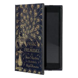 Pavo real antiguo del orgullo y del perjuicio de iPad mini cárcasa