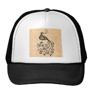 Pavo real chino gorra