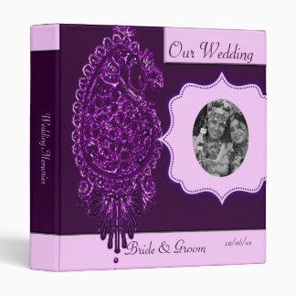 """Pavo real de la alheña (boda) (violeta) carpeta 1"""""""