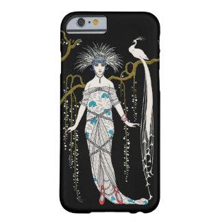 Pavo real de la placa de moda de George Barbier Funda Barely There iPhone 6