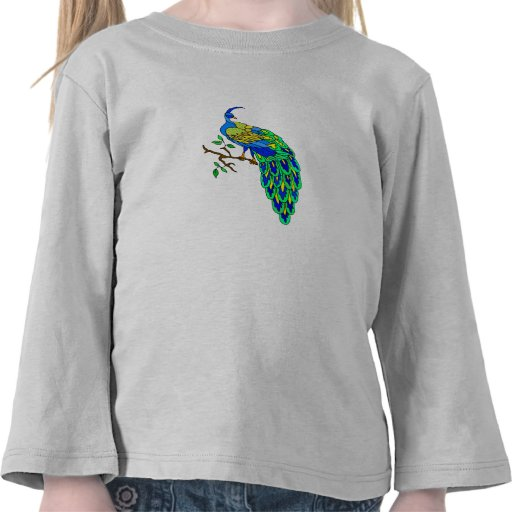 Pavo real de Pagiel Camiseta