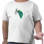 Pavo real de Pagiel Camisetas