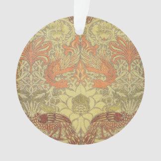 Pavo real de William Morris y modelo del dragón