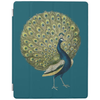 Pavo real del vintage cover de iPad