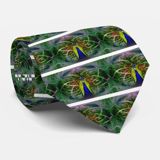 Pavo real Dreamcatcher Corbatas