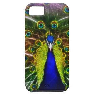 Pavo real Dreamcatcher iPhone 5 Case-Mate Coberturas