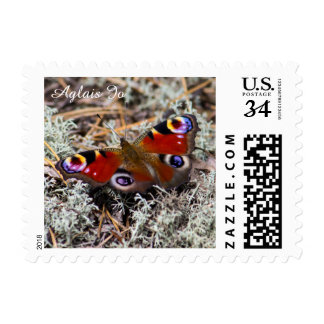 Pavo real europeo timbres postales