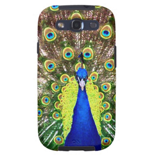 PAVO REAL GALAXY S3 PROTECTOR